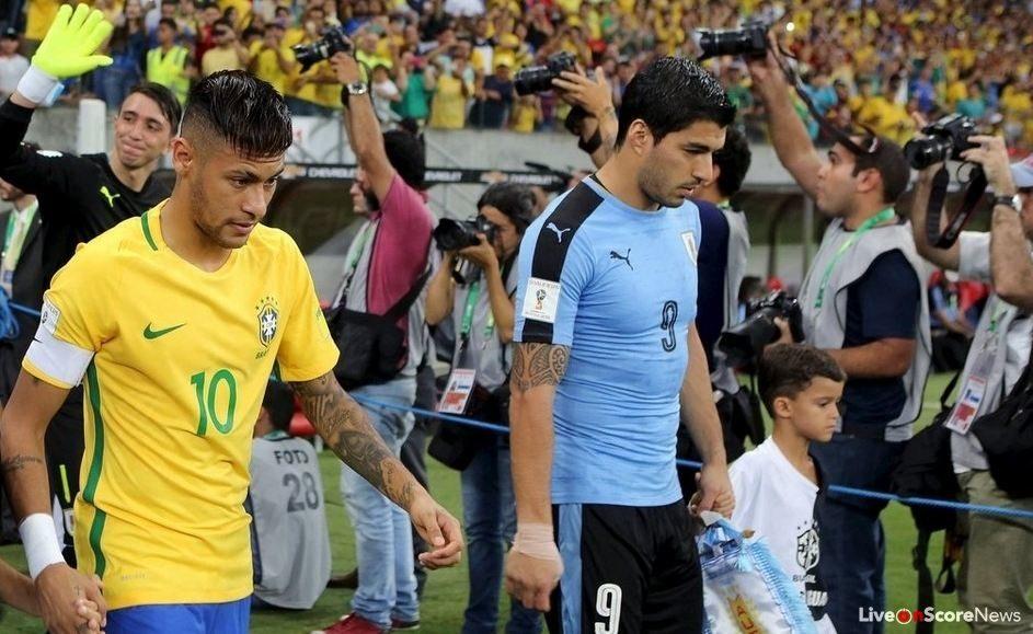 Image result for brazil vs uruguay